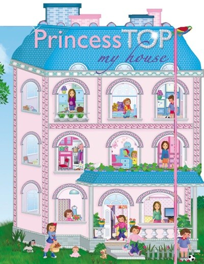 Princess TOP - My House (blue)