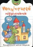 Vonalvezető négyéveseknek /Készségfejlesztő matricás könyvecske