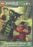 LEGO NINJAGO 3. DVD /VERSENY AZ IDŐVEL + 2 NINDZSÁS KALAND
