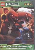 Lego Ninjago 2. DVD /Soha ne bízz a kígyókban! + 2 nindzsás kaland