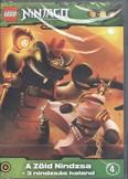 LEGO NINJAGO 4. DVD /A ZÖLD NINDZSA + 3 NINDZSÁS KALAND