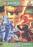 Lego Ninjago gyűjtődoboz 2. DVD /13 nindzsás kaland 4 DVD-n! (5-8.)
