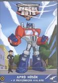 Transformers mentőbotok 5. DVD /Apró hősök + 2 mentőbotos kaland