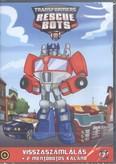 Transformers mentőbotok 7. DVD /Visszaszámlálás + 2 mentőbotos kaland