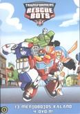 Transformers mentőbotok gyűjtődoboz 2. DVD /13 mentőbotos kaland 4 DVD-n! (5-8.)
