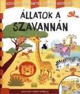 Állatok a szavannán - Kedves történetek csodás képekkel /Kihajtható, verses leporelló