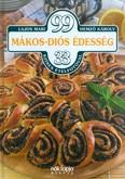 99 mákos-diós édesség 33 színes ételfotóval