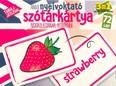 Angol nyelvoktató szókártya kisiskolásoknak, kezdőknek