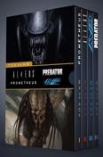 Tűz és kő - díszdoboz /Aliens és Predator 1-4. (képregény)