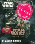 Star Wars: Rouge One playing cards - Fémdobozos kártya + Ajándék Star Wars kártya