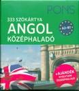 PONS Szókártyák - Angol középhaladó 333 Szó