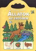 Állatok az erdőben /Matricás óvoda 2-3 éveseknek