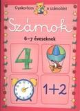 Számok 6-7 éveseknek /Gyakorlom a számolást