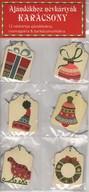 Ajándékhoz névkártyák - Karácsony - 12 névkártya ajándékokra, csomagokra & barkácsmunkákra