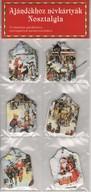 Ajándékhoz névkártyák - Nosztalgia - 12 névkártya ajándékokra, csomagokra & barkácsmunkákra