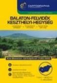 Balaton-felvidék, Keszthelyi-hegység turistakalauz (1:40 000) /Turistakalauz-sorozat