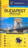 Budapest kisatlasz (1:20 000) /Budapest térképek
