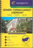 Gömör - Tornai-karszt, Cserhát turistakalauz (1:40 000) /Turistakalauz-sorozat