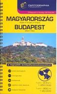 Magyarország + Budapest kombiatlasz (1:250 000,1:20 000) /Magyarország térképek