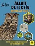 Állati detektív munkafüzet - Tele érdekes tényekkel és feladatokkal /Több mint 60 matricával