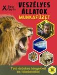 Veszélyes állatok munkafüzet - Tele érdekes tényekkel és feladatokkal /Több mint 60 matricával