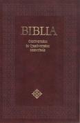 Biblia - Ószövetségi és Újszövetségi Szentírás - Kicsi /Keménytáblás - bordó, fekete (katolikus fordítás)