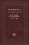 Biblia - Ószövetségi és Újszövetségi Szentírás - Kicsi /Puha - bordó (katolikus fordítás)