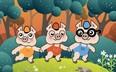 A három kismalac /Diafilm