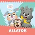 Disney Baby: Állatok - Zörgős textil könyv