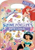 Színezőfüzet matricákkal - Disney Hercegnők - Több mint 30 matricával