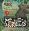 The Jungle Book - A dzsungel könyve: Könyv 15 mágnessel - 3 éves kortól