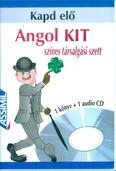KAPD ELŐ: ANGOL KIT /SZÍNES TÁRSALGÁSI SZETT - 1 KÖNYV + 1 AUDIO CD