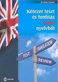 Kétezer teszt és fordítás angol nyelvből