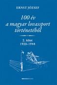 100 év a magyar lovassport történetéből II. kötet 1920-1944.