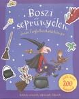 Boszi seprűnyélen - Óriás foglalkoztató /Játékok, színezők, rejtvények, fejtörők