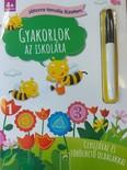 Gyakorlok az iskolára - Játszva tanulós füzetem - Ceruzával és törölhető oldalakkal