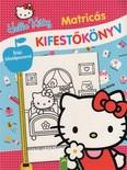 Hello Kitty: Matricás kifestőkönyv - Óriási poszterrel