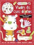Mini művész: Vidám és cuki állatok - Játékos színezőkönyv matricákkal
