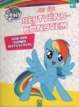 My Little Pony: Az én rejtvénykönyvem - Sok-sok színes matricával
