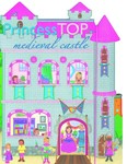 Princess TOP - Medieval castle (pink)