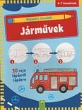 Rajzolni tanulok: Járművek - 30 rajz lépésről lépésre