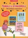 Tanulj és gyakorolj - 192 jutalom matricával - 3-4 éveseknek (sárga)