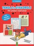 Tanulj és gyakorolj - 192 jutalom matricával - 6-7 éveseknek (piros)