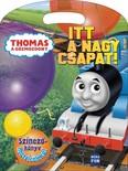 Thomas, a gőzmozdony - Itt a nagy csapat! - Színezőkönyv matricákkal