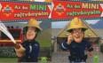 Tűzoltó Sam: Az én mini rejtvényeim - Piros (2 minifüzet 1 csomagban)