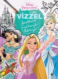 Vízzel festhető színezőkönyv: Hercegnők