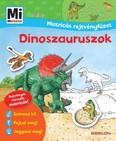 Dinoszauruszok - Mi MICSODA Junior matricás rejtvényfüzet