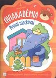 Oviakadémia brumi mackóval 4 éves kortól /Készségfejlesztő foglalkoztató matricákkal