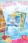 Disney Princess Black Peter & Memo /Kártya