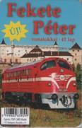 Fekete Péter vonatokkal - 41 lap (kártya)